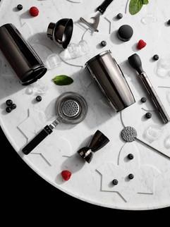 Barock cocktail shaker set