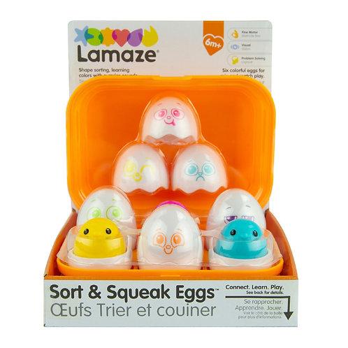Caja de Huevos con Sonidos y Figuras