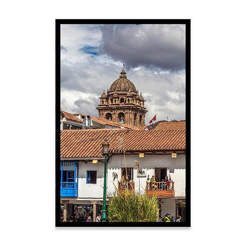 Cuadro Balcón en Cusco