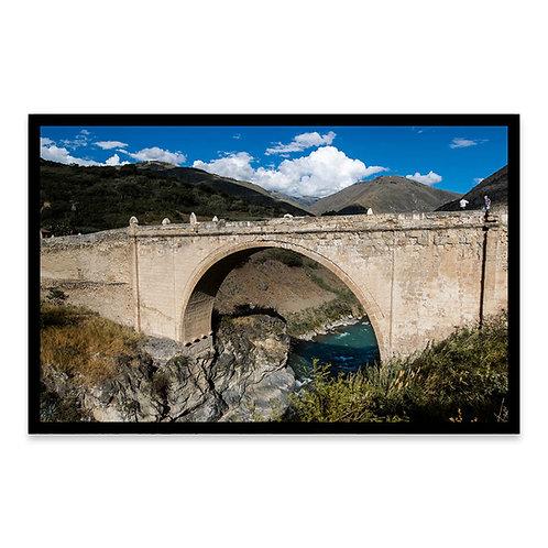 Cuadro Abancay Colonial Bridge