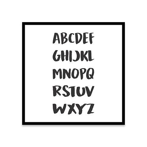 Cuadro Letras