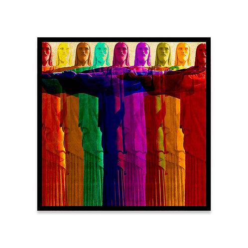 Cuadro Colors Cristo Redentor
