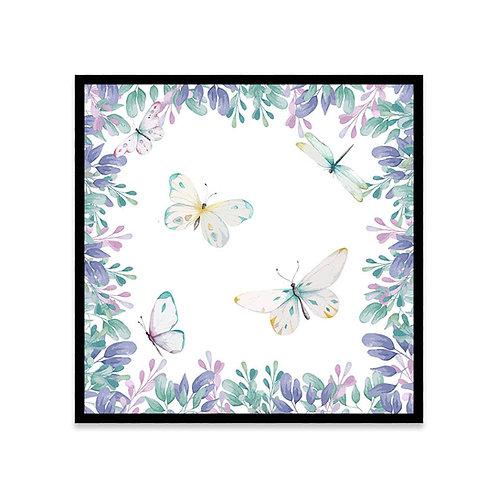 Cuadro Bosque mariposas