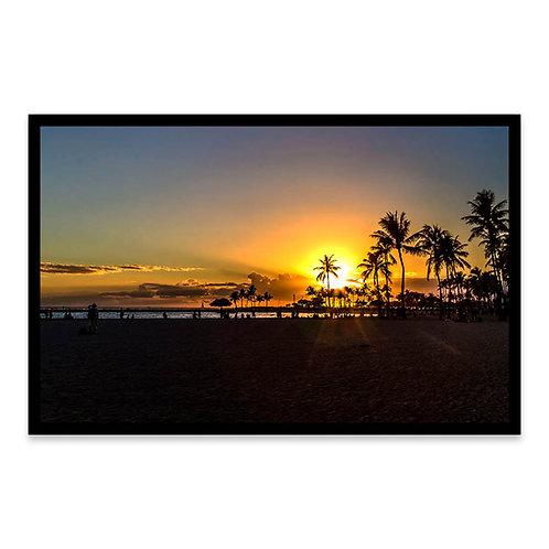 Cuadro Sunset en Tambopata