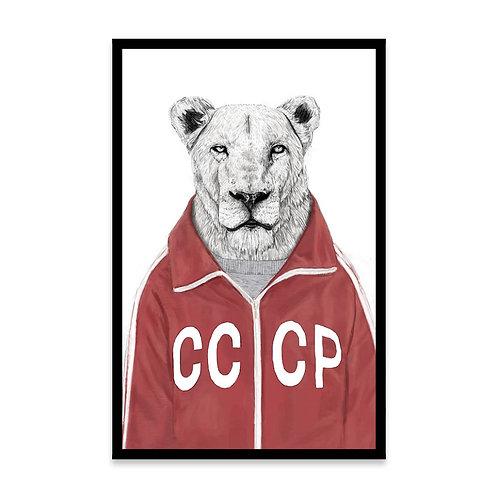 Cuadro Soviet Lion