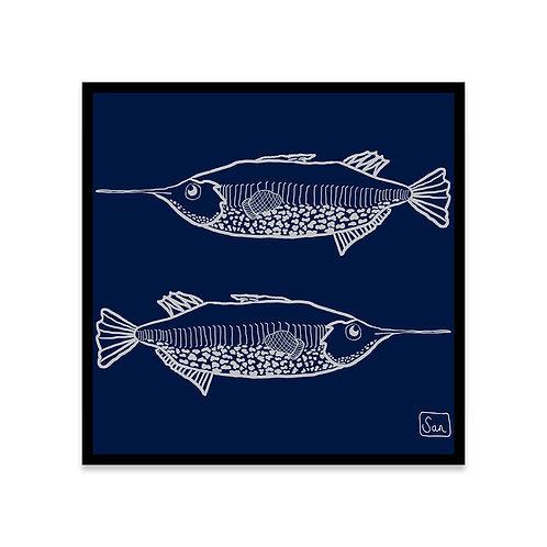 Cuadro Trumpet fish x 2