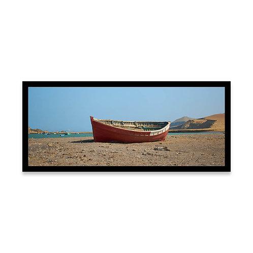 Cuadro Bote abandonado en Lagunillas