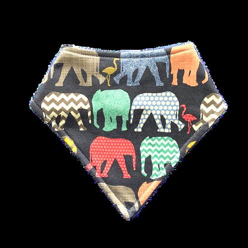 Babero Bandana Elephants