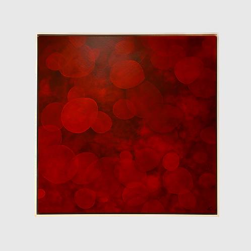 Cuadro Puntos Rojos