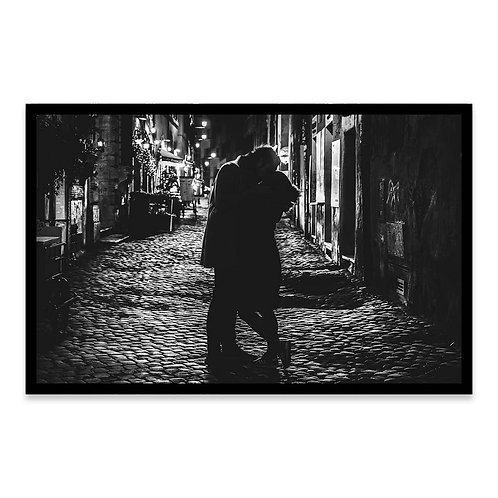 Cuadro Un beso en Roma