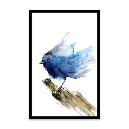 Cuadro Blue bird