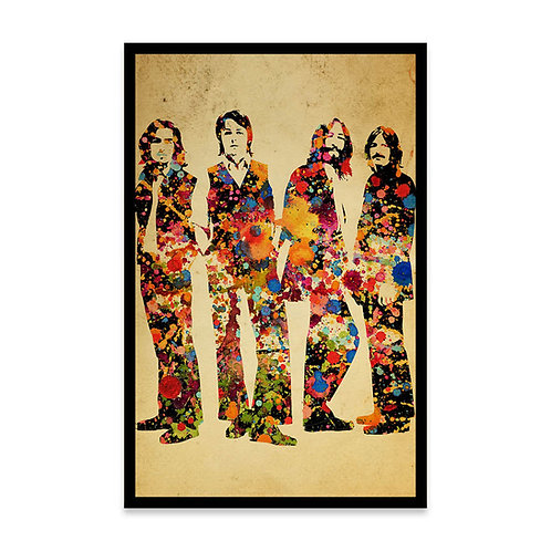 Cuadro Colors Beatles