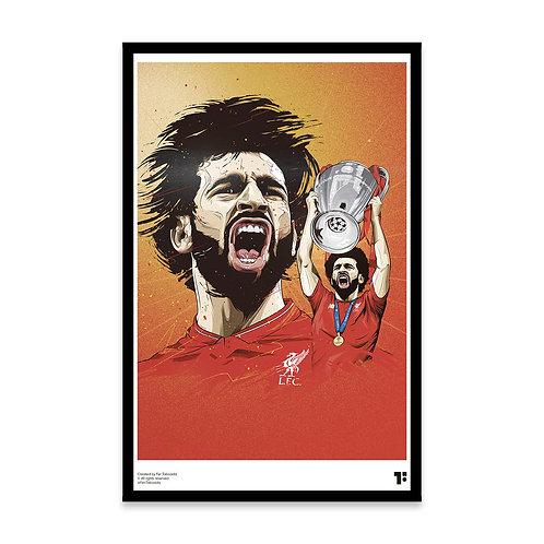 Cuadro Salah Liverpool