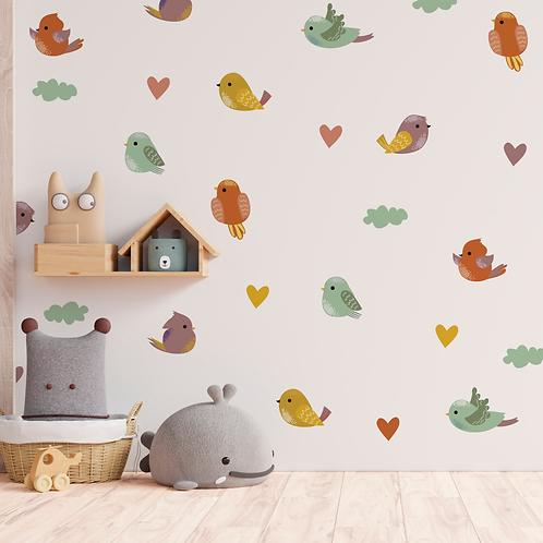 Deco Wall Birds