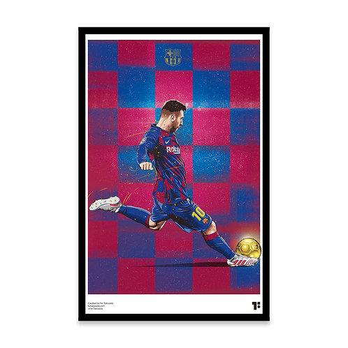 Cuadro Lío Messi