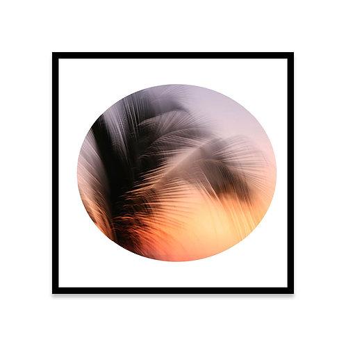 Cuadro Sunset Palm 1