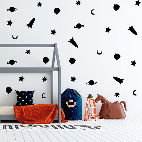 Deco Wall Space Pattern
