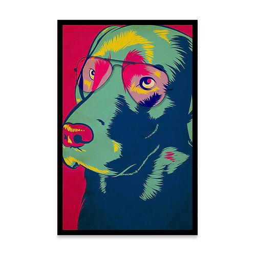 Cuadro Colors Labrador