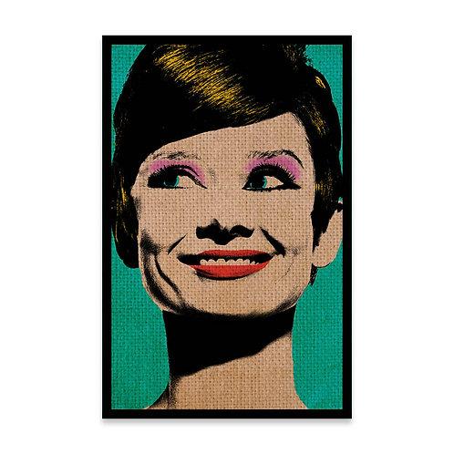 Cuadro Audery Hepburn Pop Art
