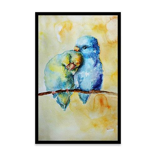 Cuadro Birds in love