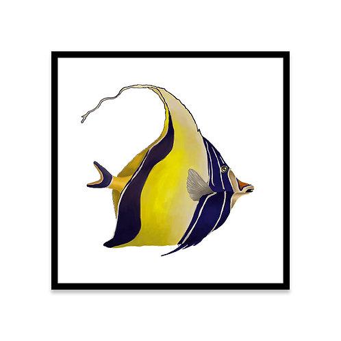 Cuadro Pez amarillo