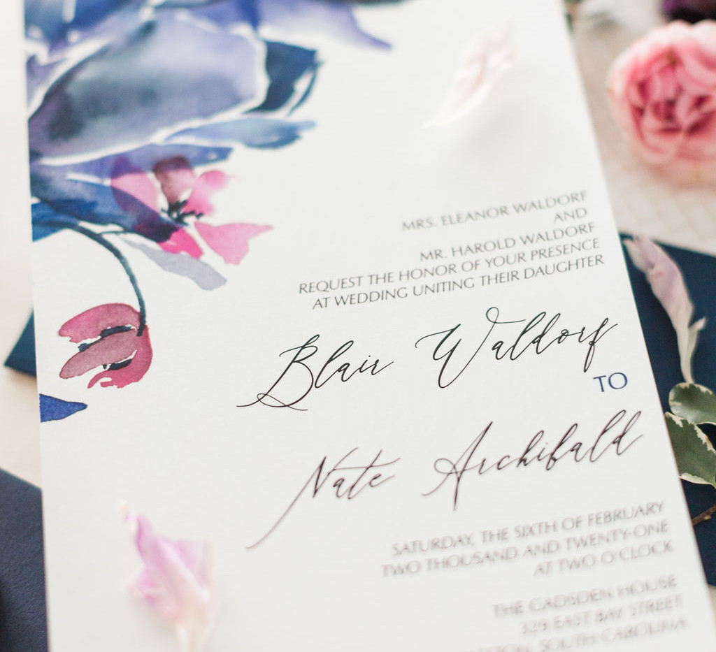 j-char-designs-abstract-blue-classic-invitations-close up