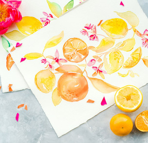 j-char-designs-citrus-watercolor-art