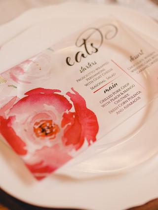 acrylic-menu-pink-flower-j-char-designs.