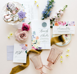 j-char-designs-pastel-florals-with -wax-seal-flatlay