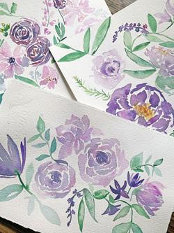 jchardesigns-purple-watercolor-paintings