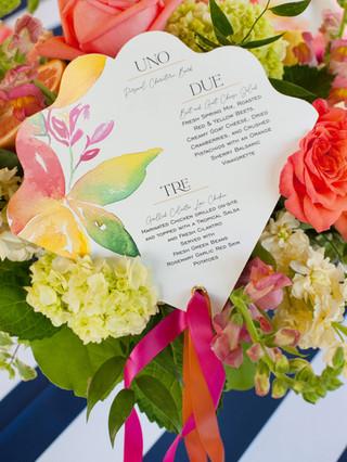 j-char-designs-fan-menu-citrus-wedding.j