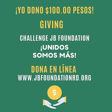 JB Foundation Realiza Giving Challenge para ayudar a personas afectadas por COVID-19