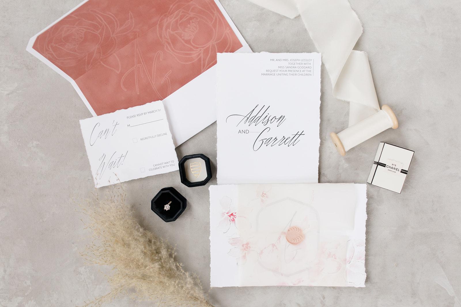 luxe layers invitation