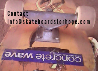DONATE YOUR USED SKATEBOARDS FOR HOPE – GULU