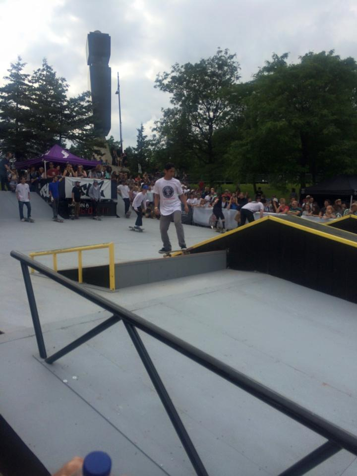 World Cup Skateboarding Run