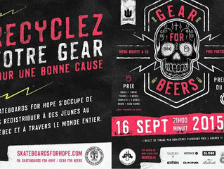 GEAR FOR BEER   SEPT 16