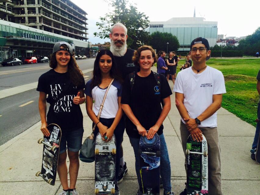 Go Skateboarding Day in Montreal