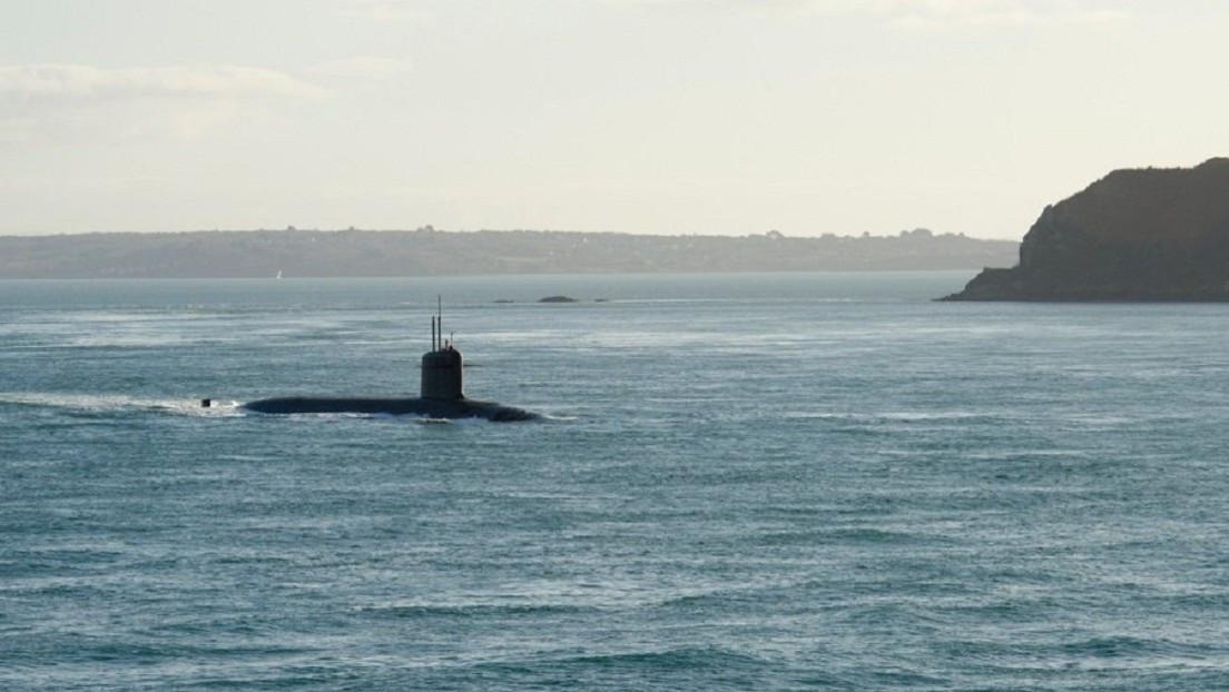 Francia prueba con éxito misil balístico lanzado desde un submarino