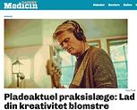 Jannik Falhof thedreams i Dagens medicin om kreativitet