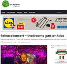 releasekoncert thedreams på Atlas - coronaudsat