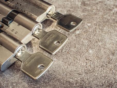 Schlosswechsel mit einem Sicherheits-Schliesszylinder