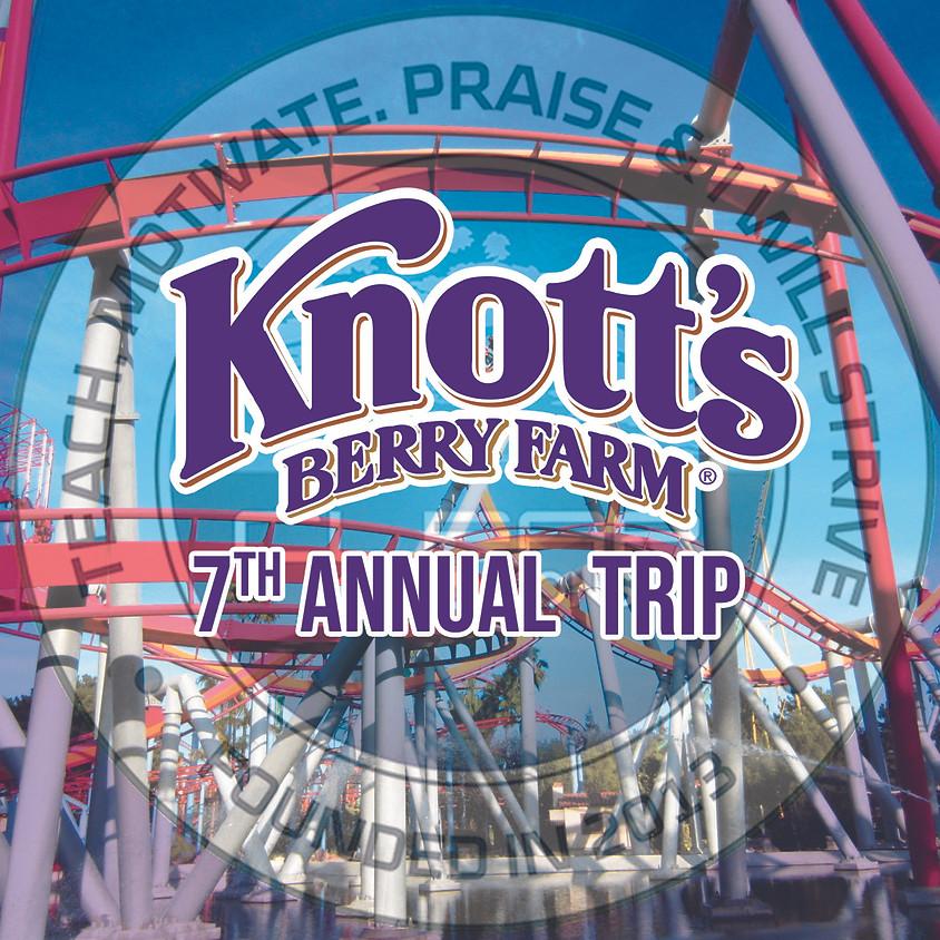 CM Knott's Trip!