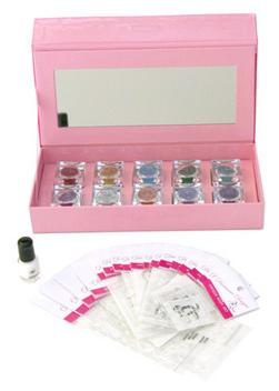 Personal Starter Kit - 10 Glitter Jewels~ 26 Stencils~ MirAdhesive