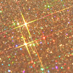 Gold Glitter Jewel