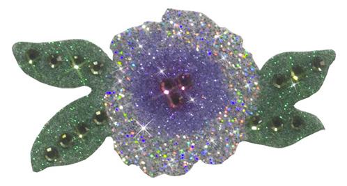 Flower Purple-Lilac-Silver
