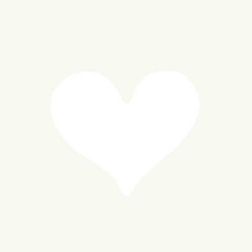 Small Heart Stencil