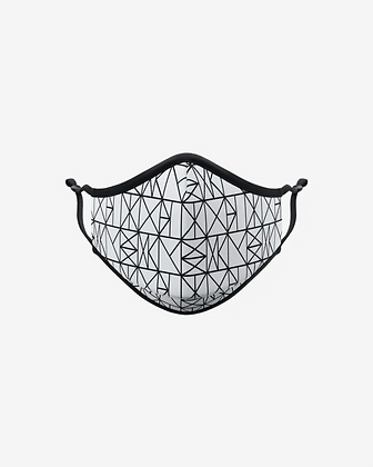 Abstract Lines Face Mask