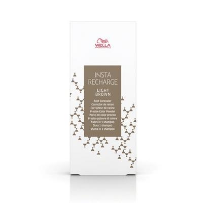 Wella Insta Recharge Powder Root Concealer - Light Brown