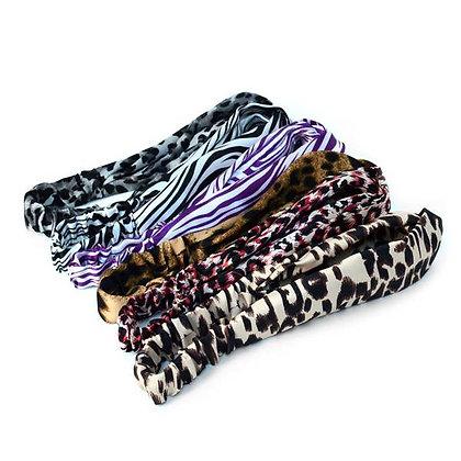 Criss Cross Animal Print Headband - Selini NY