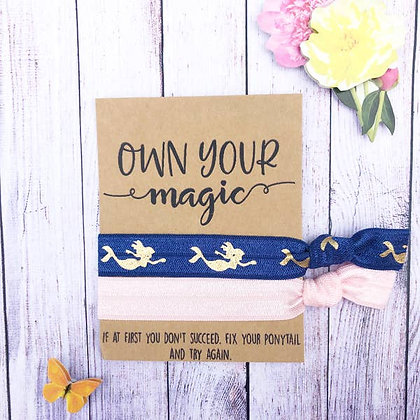 Own Your Magic Hair Tie Set - Wishlets